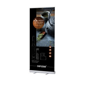 Cenzaa ''Lifestyle'' Roll Up Banner