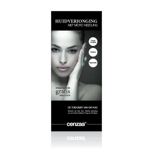 Cenzaa Roll-up banner Micro Needling