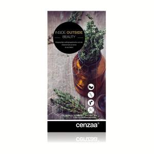 Cenzaa Inside / Outside Supplements Card