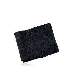 Antraciet Bandeau Badstof elastisch 8-9cm