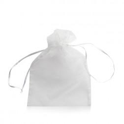 Voile zakje groot [22,5x15] wit