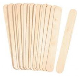Spatel hout 11cm disposable 100st