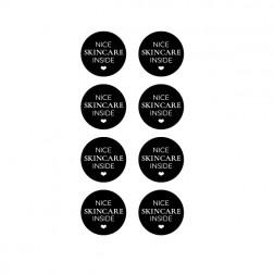 ''NICE SKINCARE INSIDE'' Gift Etiket [uni] 20st