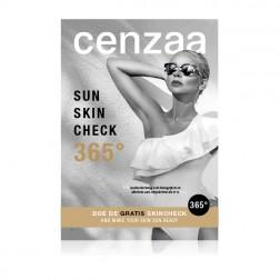 """Cenzaa Stoepbordposter """"365° Sun Protection"""""""