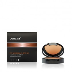 Cenzaa CC MINERALS SPF 30 - Honey Velvet Finish