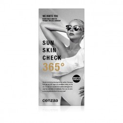 Cenzaa 365° Sun Protection Sun Check Card 10st