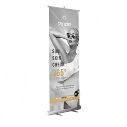 Cenzaa 365° Sun Protection Roll Up Banner