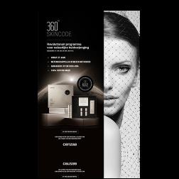 Cenzaa 360 Skincode Award Winning Stoepbordposter