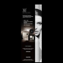 Cenzaa 360 Skincode Award Winning Roll Up Banner