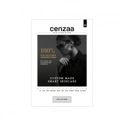 Cenzaa ''Smart Skincare'' Poster [50x70cm]gepersonaliseerd