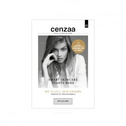 "Cenzaa ""We fulfill Skin Dreams"" Stoepbordposter gepersonalis"