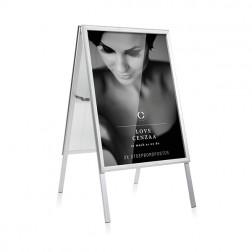 Cenzaa Opklapbaar Stoepbord incl. 2 gelijke posters