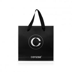 Cenzaa luxe papieren tas 21x21 cm 1st