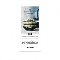 Cenzaa Tea Ritual Card 10st