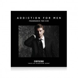 Cenzaa Showcard 'Addiction For Men'