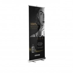"Cenzaa NWYRK Roll Up Banner ""Gold Power Treatment"""