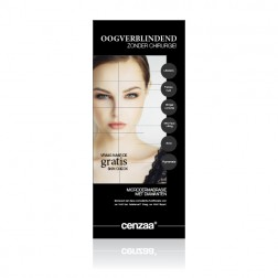 Cenzaa ''Diamond Touch'' Roll Up Banner