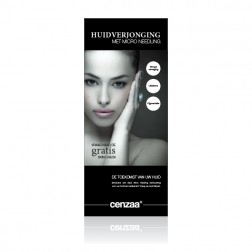 Cenzaa ''Micro Needling'' Roll Up Banner