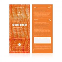 Food Lab Voedingskaart Gevoelige Huid 10st.