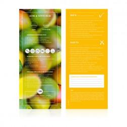 Food Lab Voedingskaart Acne / Vette Huid 10st.