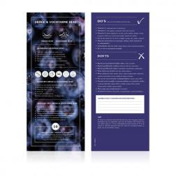 Food Lab Voedingskaart Droge / Vochtarme Huid 10st.