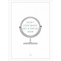 "IK ""Facial"" Stoepbordposter [620x870]"