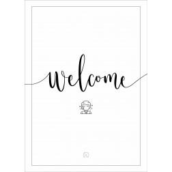"IK ""Welcome"" Stoepbordposter [620x870]"
