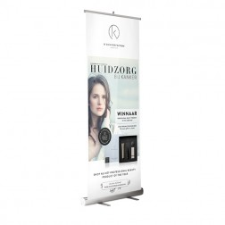 IK ''Silky Organic Recover Box '' Roll Up Banner