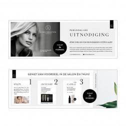 IK Flyer ter promotie van Reset Your Skin-behandeling 25st