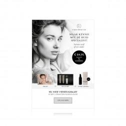 IK ''Reset Skincare Box'' Stoepbordposter gepers.[620x870mm]