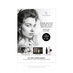 IK ''Reset Skincare Box'' Stoepbordposter [620x870mm]