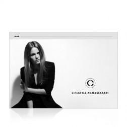 Cenzaa Lifestyle Analysekaart 25st