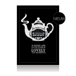 "Cenzaa Wenskaart ""Lovely Tea Moments"" 10st"