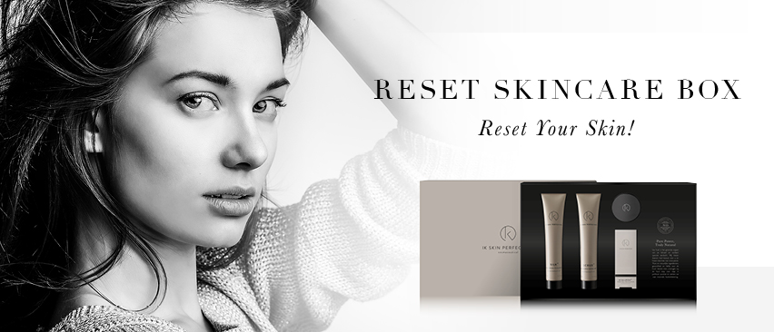 IK RESET YOUR SKIN - SKINCARE BOX
